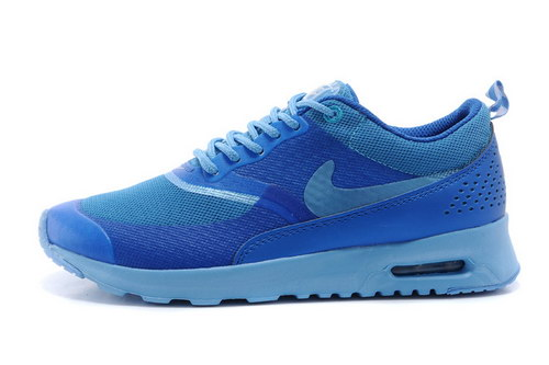Womens Nike Air Max Thea All Blue Czech
